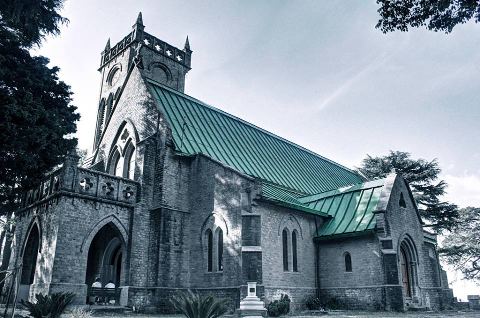 Attractions in kasauli christ chruch