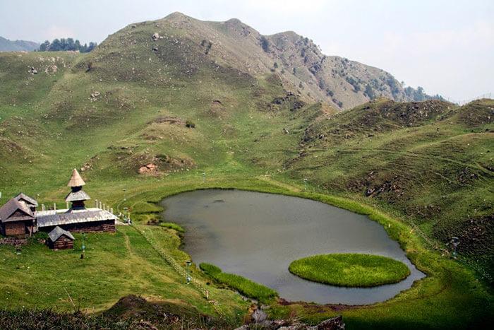 dalhousie sightseeing ganji pahari