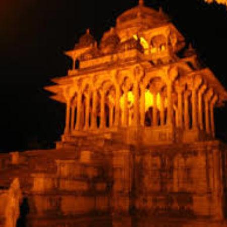 84 Pillared chhatri