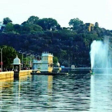 fateshsagar lake