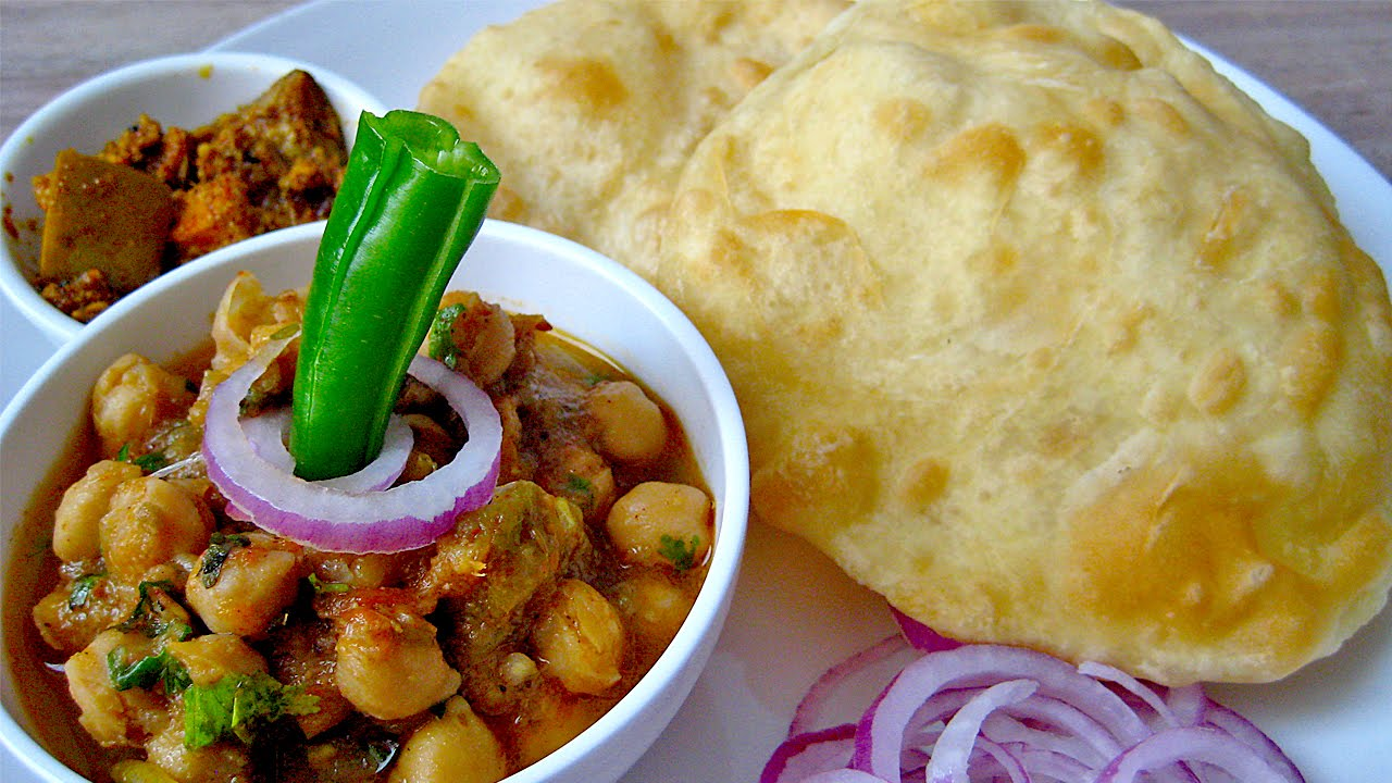 chole bhature dilli haat ina