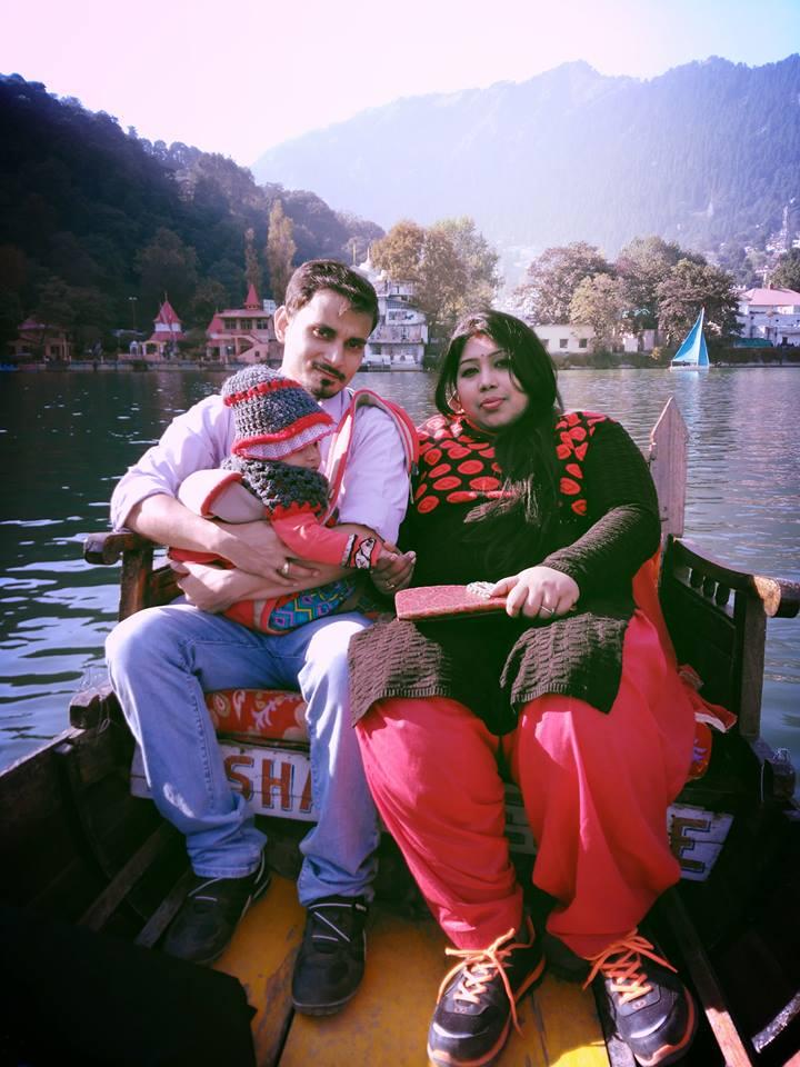 Shikara ride in Nainital lake