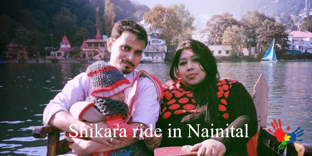 Shikara ride in nainital